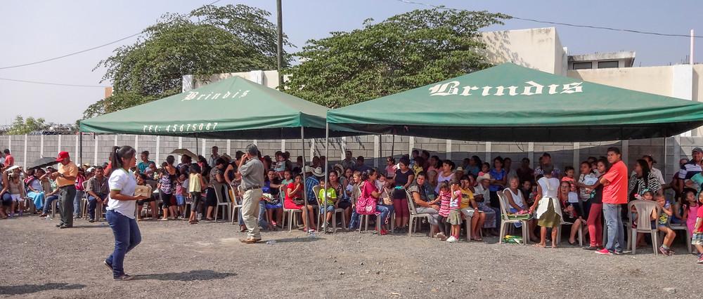 The Health Fair in Santa Catarina Mita, Guatemala