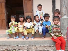 Montagnard orphans in Vietnam