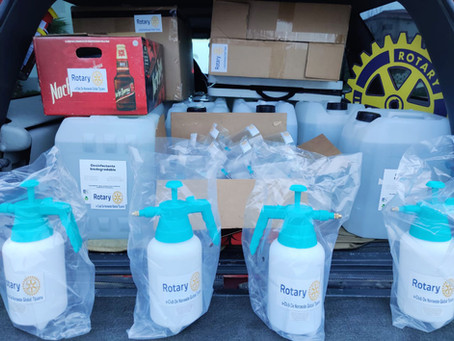 SJC Rotary helps Tijuana Hospital
