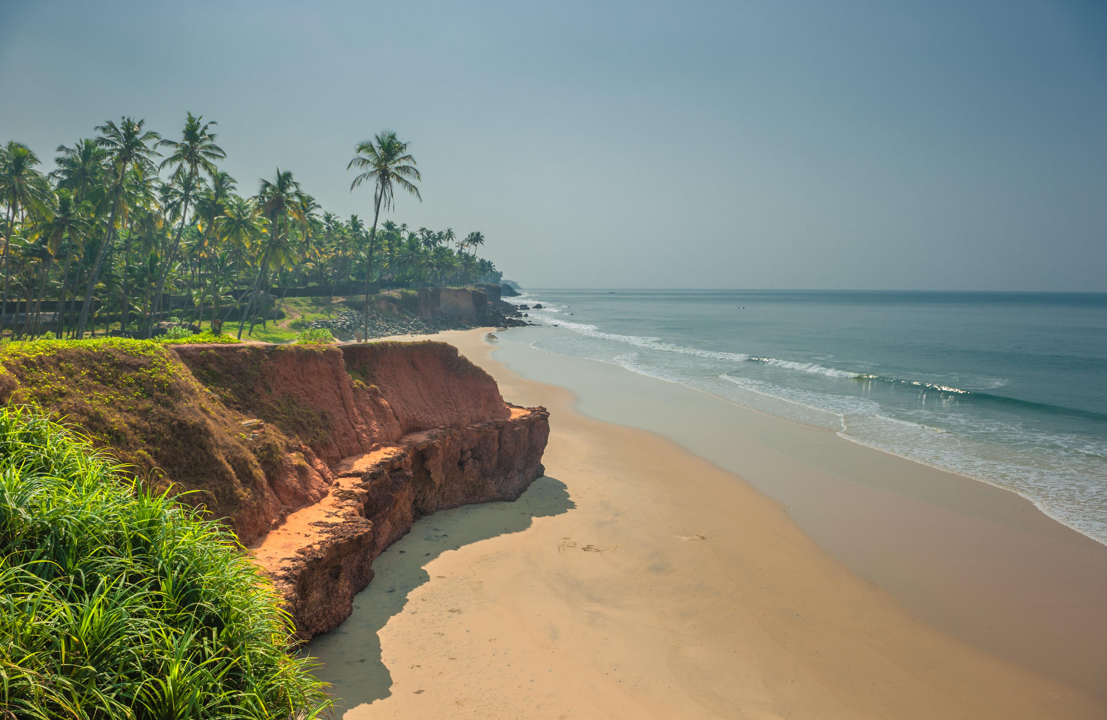Varkala Beach, Kerala, India