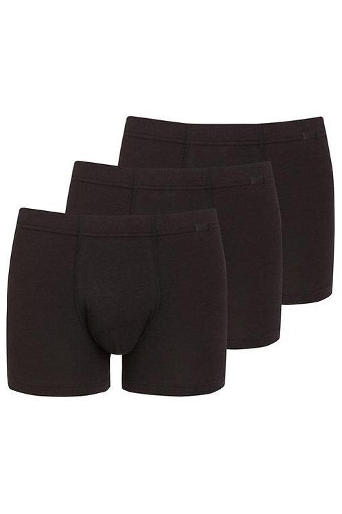 Jockey® Cotton+ Trunk 3-Pack schwarz