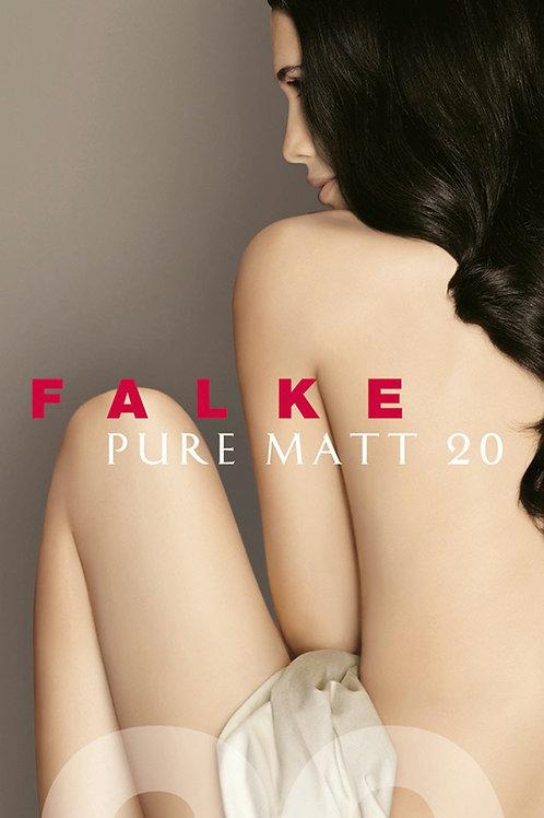 FALKE Pure Matt 20 DEN Damen Kniestrümpfe