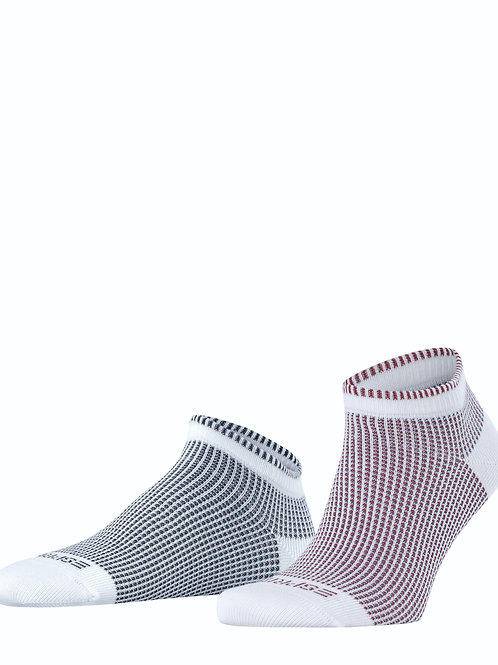 Esprit Vertical Piqué 2-Pack Herren Sneakersocken