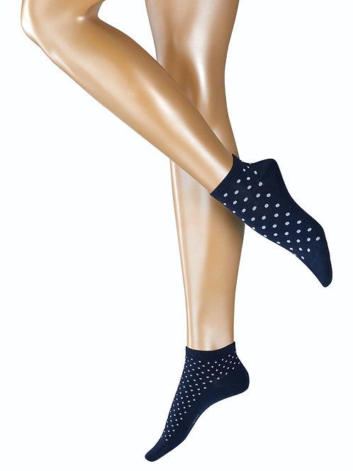 Esprit Dot Mix 2-Pack Damen Sneakersocken