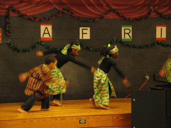 Black History Night school performance