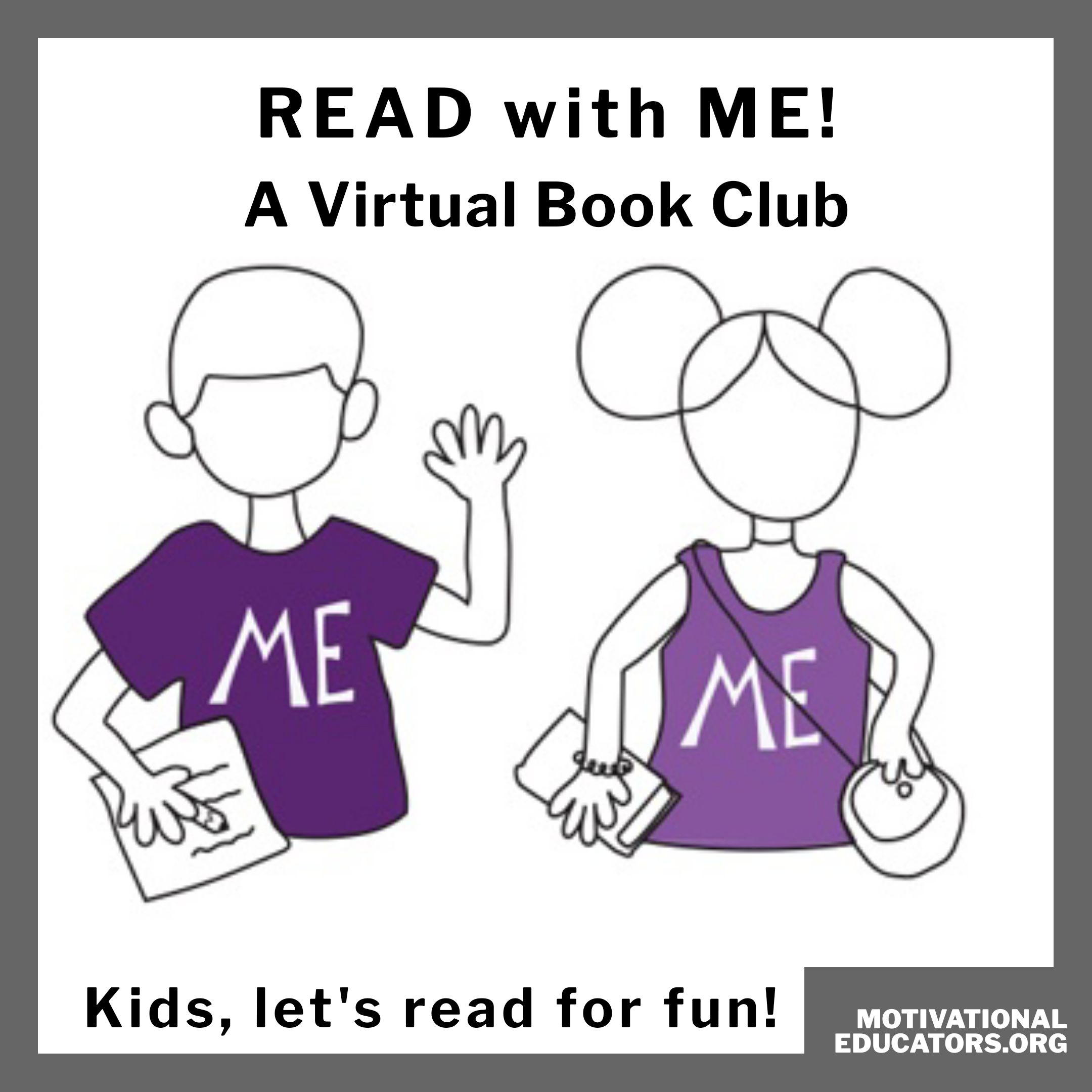 READ with ME! A Virtual Book Club