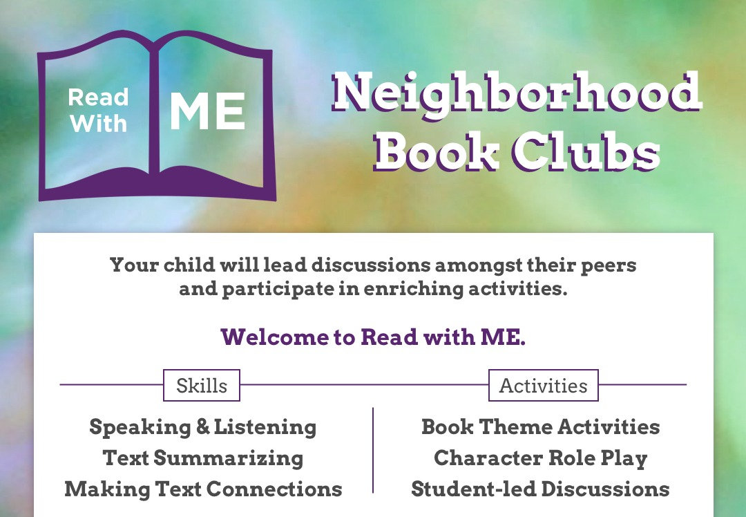 Neighborhood Book Clubs - Read With ME