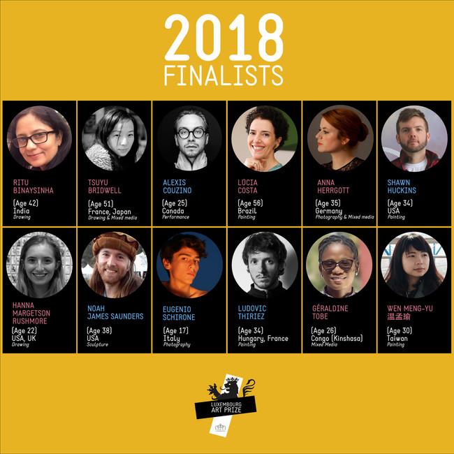 2018 Luxembourg Art Prize 盧森堡藝術獎