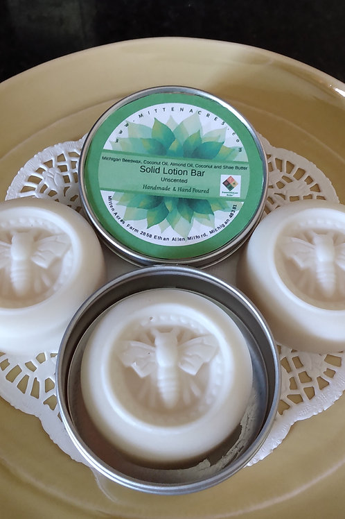 Mitten Acres Natural Lotion Bars