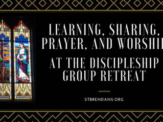 Learning, Sharing, Prayer, and Worship at the Discipleship Group Retreat