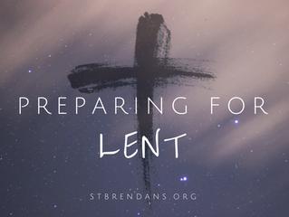 Preparing for Lent