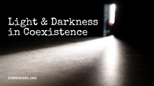 Light and Darkness in Coexistence