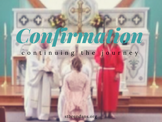 Confirmation: Continuing the Journey