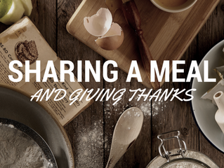 Sharing a Meal—and Giving Thanks