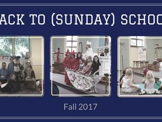 Back to (Sunday) School