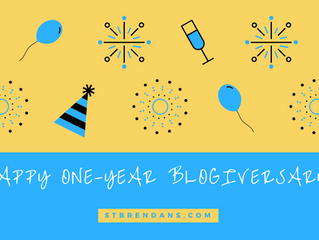 Happy One-Year Blogiversary