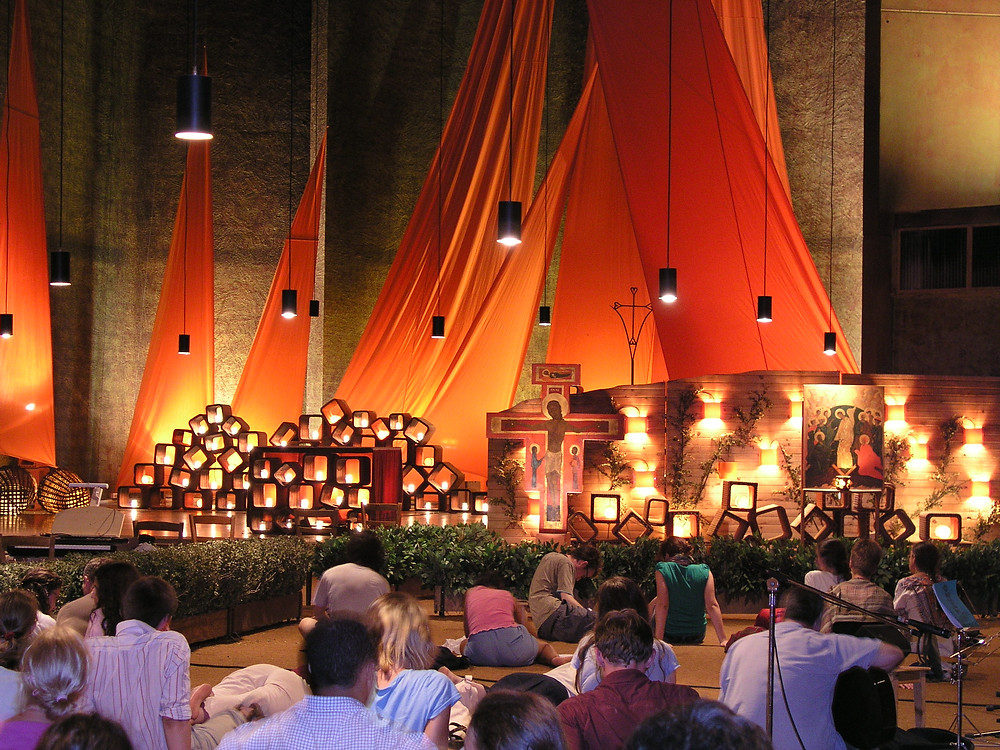 The Church of Reconciliation, Taizé, France
