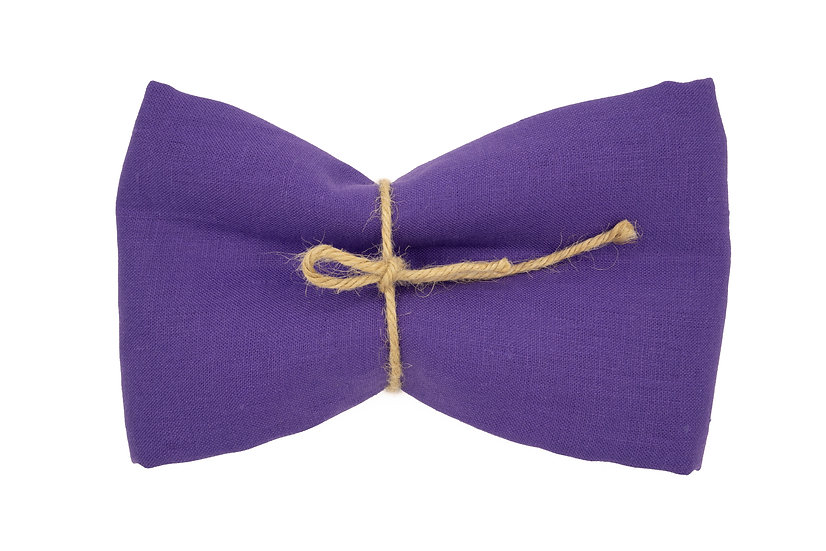 Heavy Weight Pure Linen - Wildflower Purple