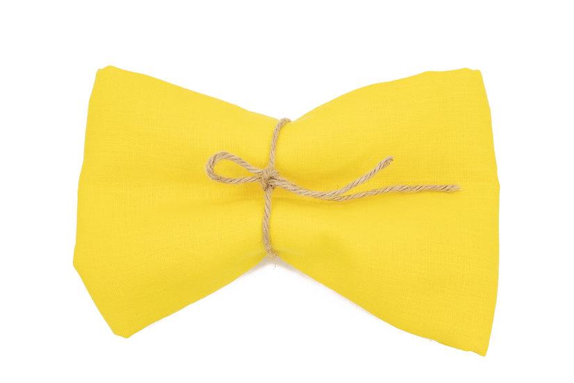 Heavy Weight Pure Linen - Copacbana Yellow