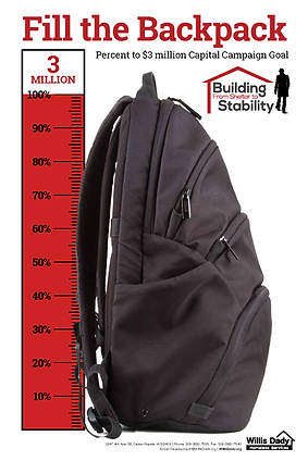 Capital Campaign - Fill the Backpack