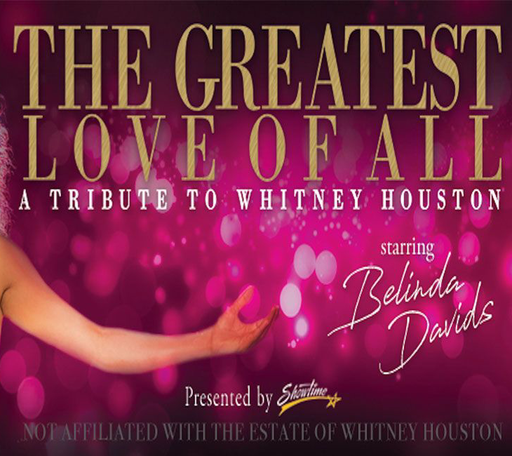 Houston Events April 2020.The Greatest Love Of All April 2020