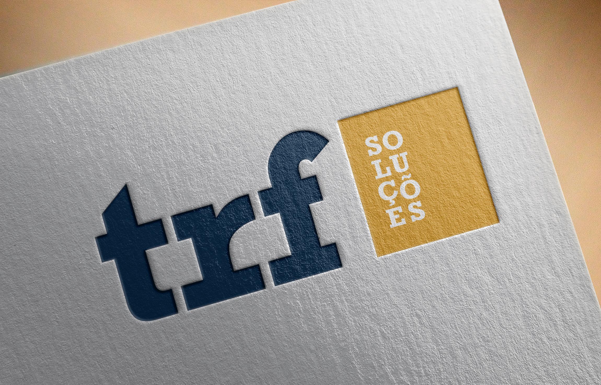 Logotype TRF -Soluções