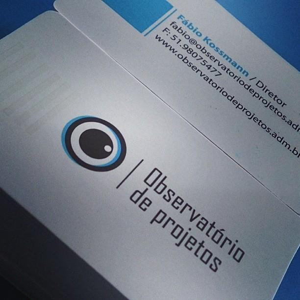 Logotipo Observatório de Projetos