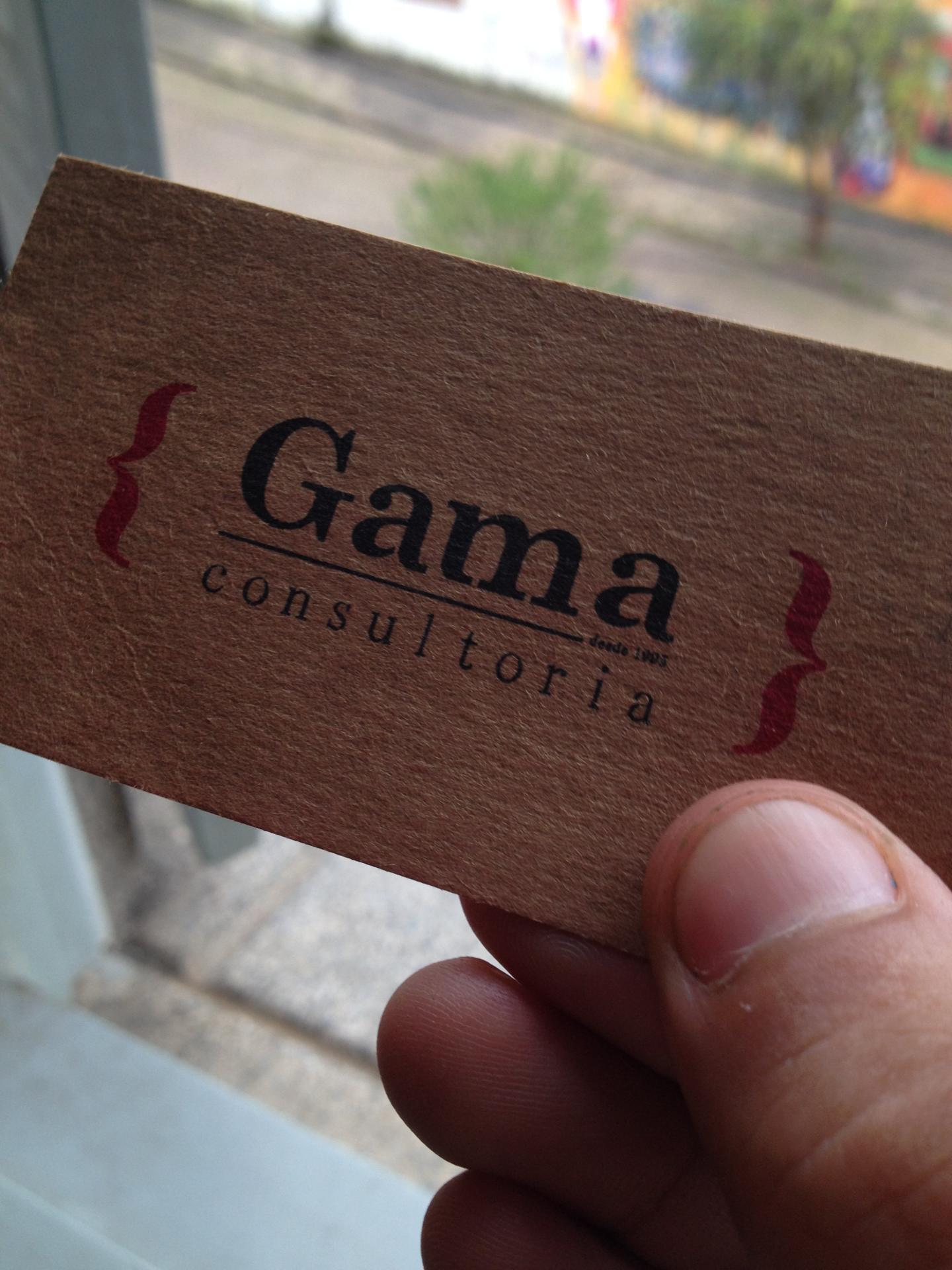 Logotipo Gama Consultoria