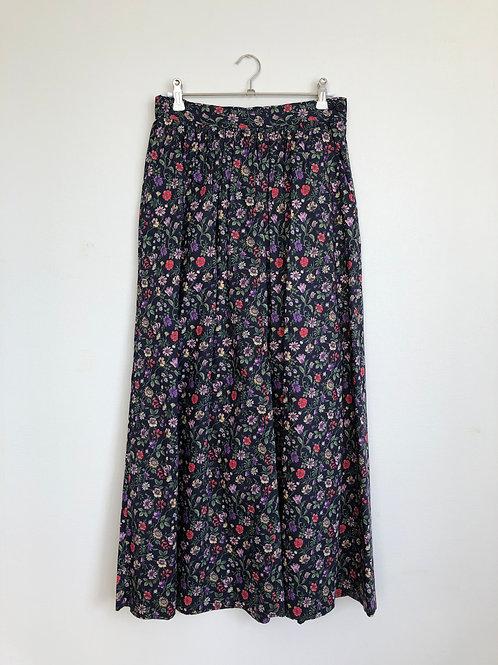 リバティプリントギャザースカート