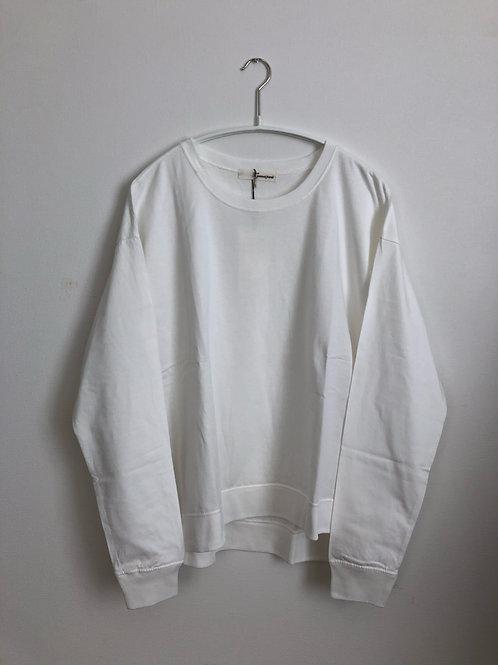 ヴィンテージコットンリブ付きTシャツ