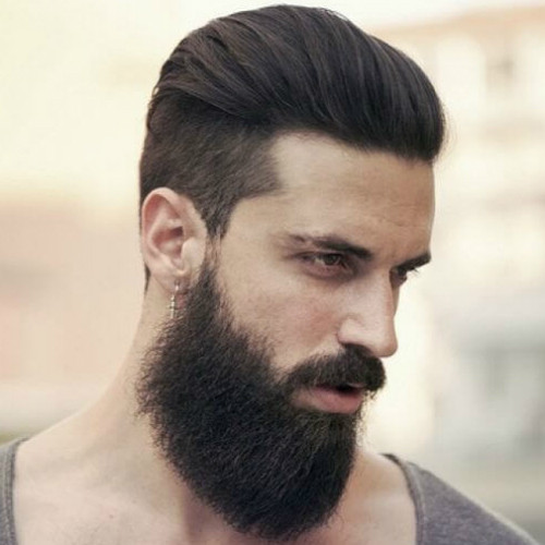 slicked back hairstyles, pomades hairstyles, how to do slicked back