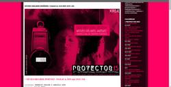Proyector video art festival