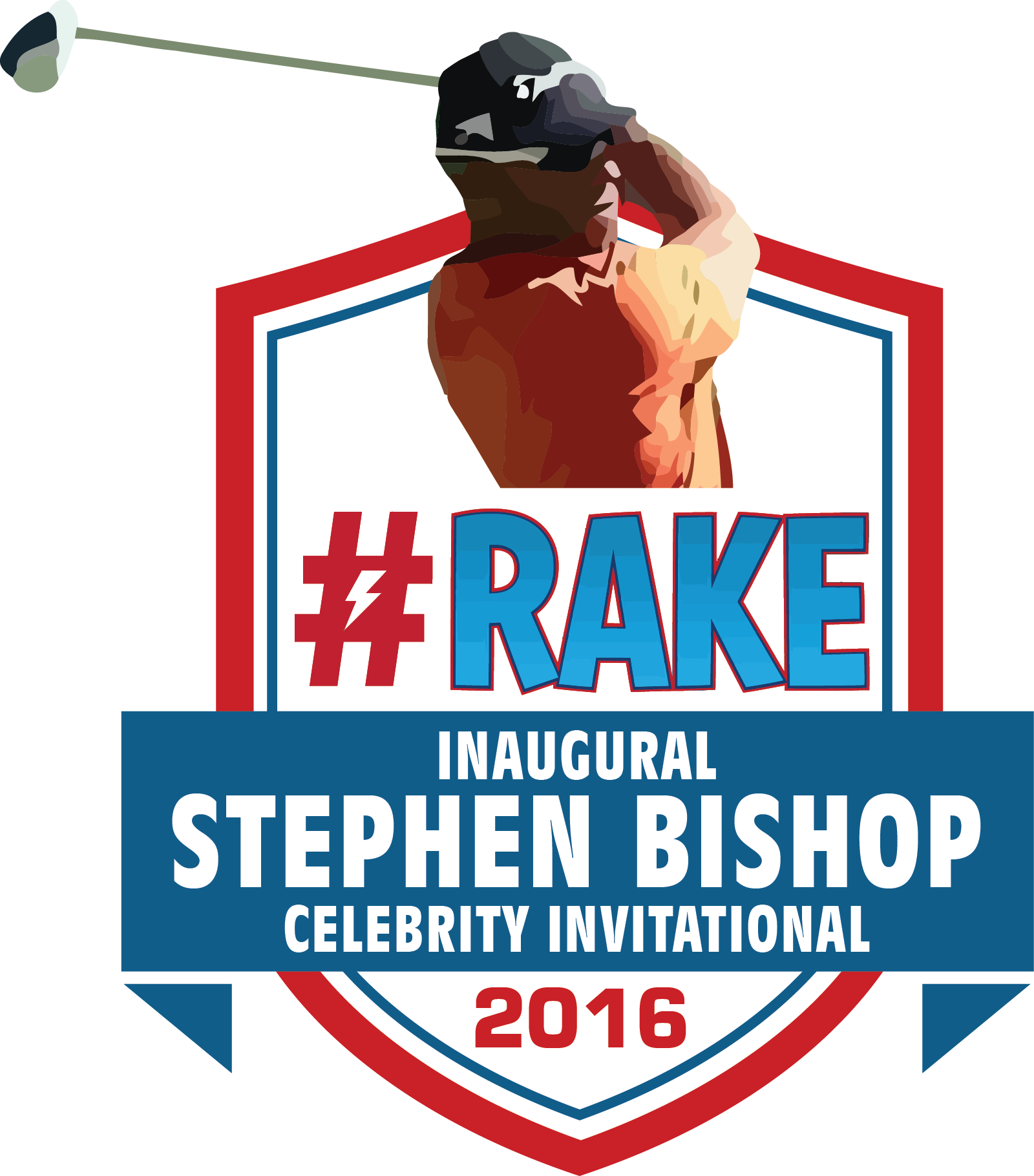 Stephen Bishop RAKE GOLF logo-