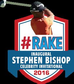 Stephen Bishop RAKE GOLF logo-