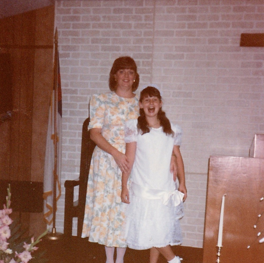 LeGore_Angie and I singing in Church-age 12_edited