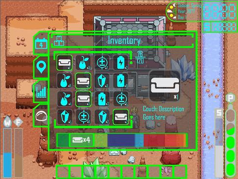 Inventory UI Concept