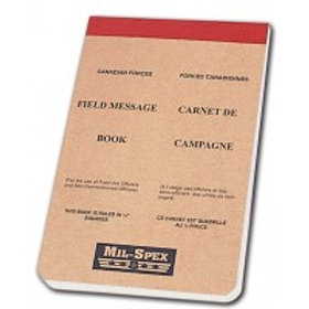 FIELD MESSAGE BOOKS