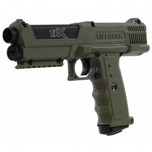 Tippmann TiPX Paintball Gun Pistol Olive