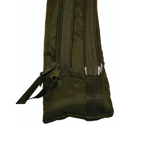 The Special Forces Zip Baffle allows both bags to be used together and retain th