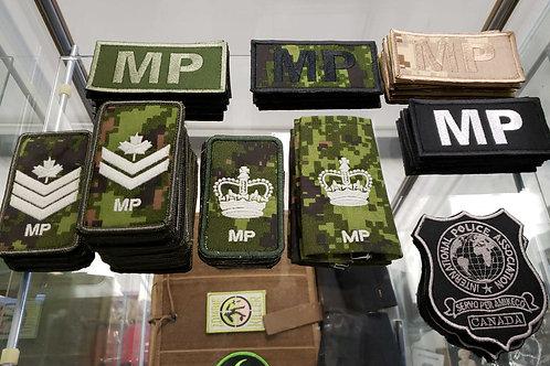 MILITARY POLICE RANK BADGE