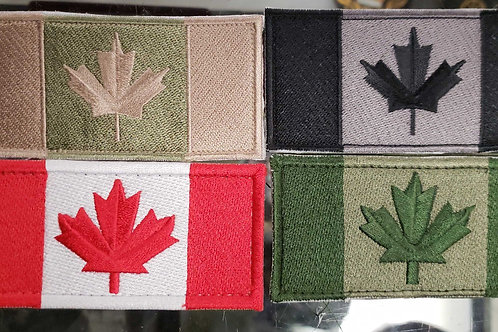 """4 Canadian flags """"2x4""""   qty 4 FREE SHIPPING"""