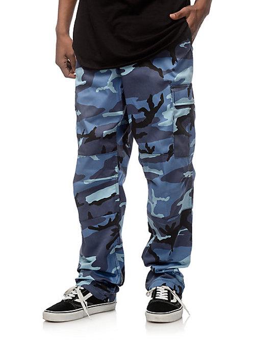 BDU Sky Blue Camo Cargo Pants