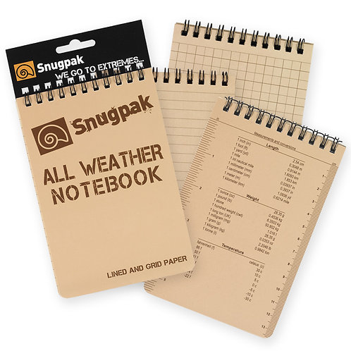 Snugpak - All Weather Notebook - Large
