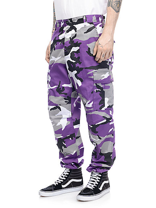 BDU Tactical Ultra Violet Camo Cargo Pants