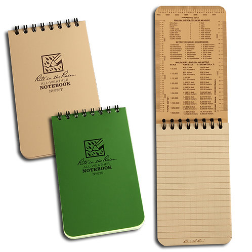 """All Weather 3""""x5"""" Notepad"""