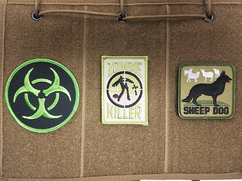 Patches  set of 3