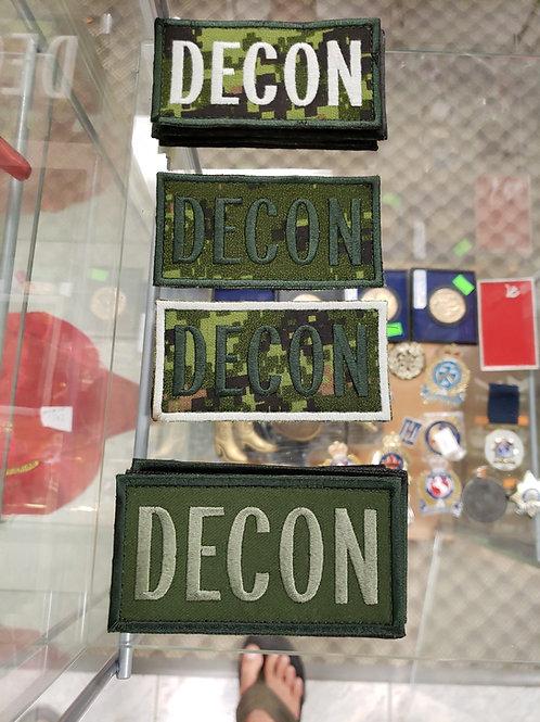 DECON 2X4 VELCRO PATCH