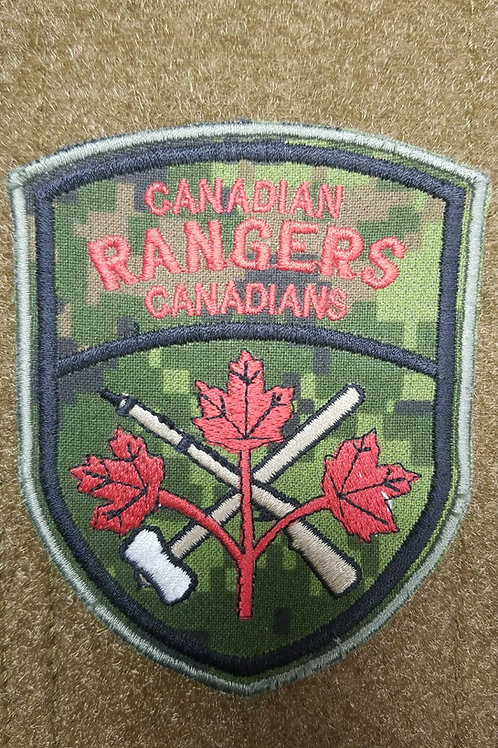 Candian rangers velcro patch