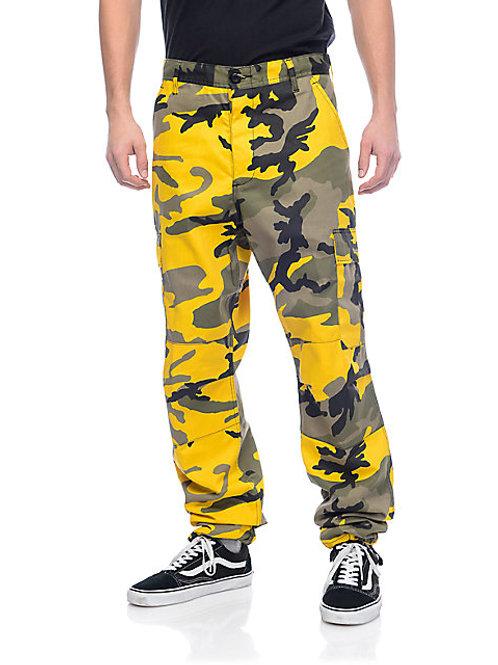 BDU Stinger Yellow Camo Cargo Pants