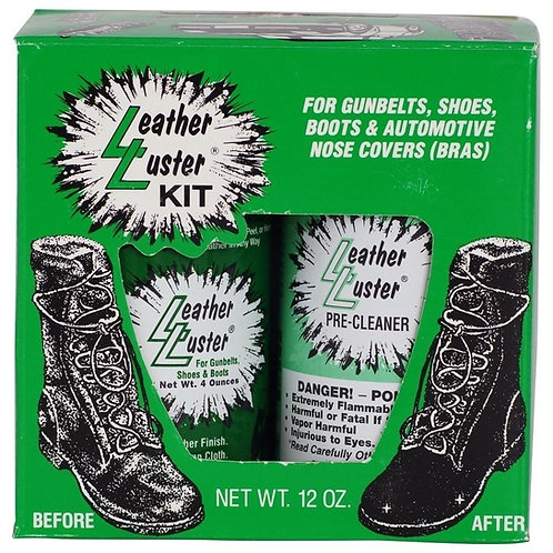 """2 LEATHER LUSTER KITS 'THAT'S 2 KITS"""""""